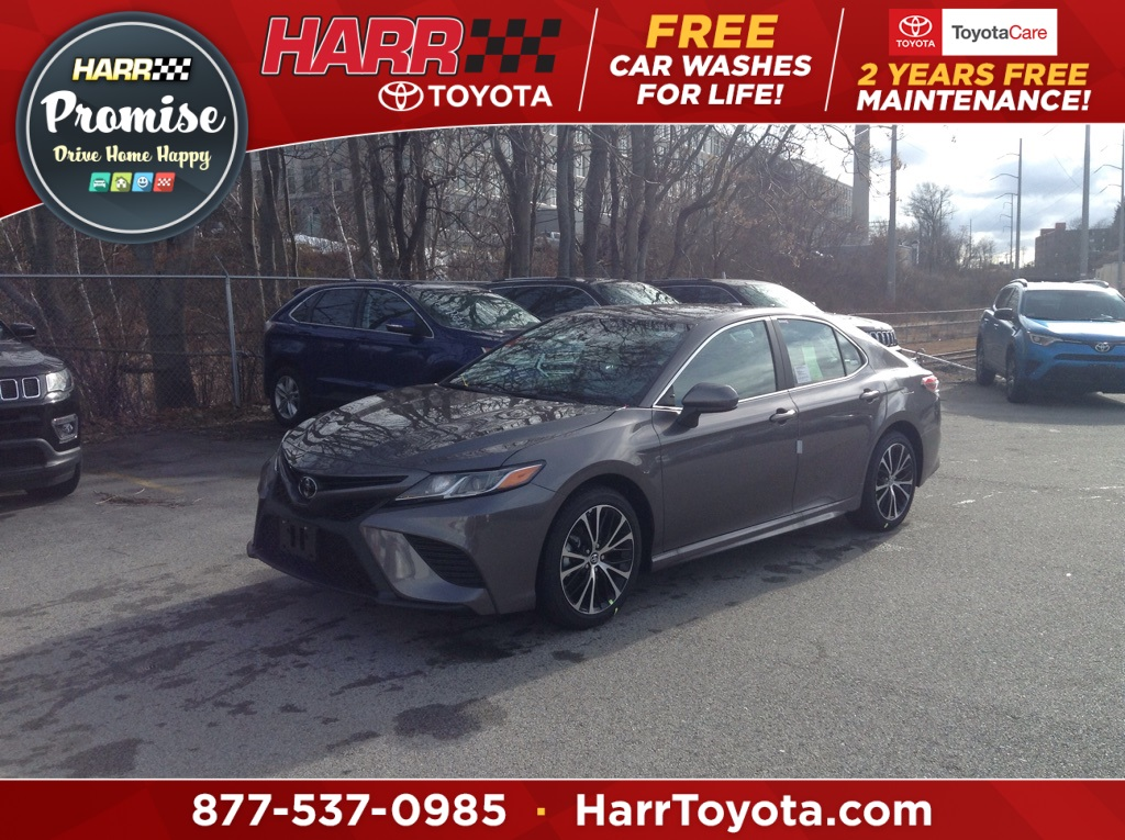 New 2019 Toyota Camry Se 4d Sedan In Worcester S1828 Harr Auto Group