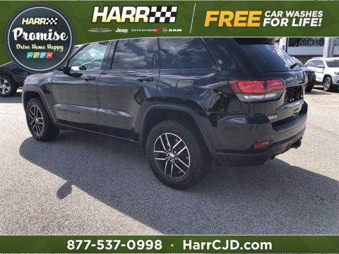 Certified Pre-Owned 2017 Jeep Grand Cherokee Trailhawk With Navigation & 4WD