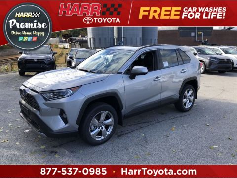 New 2019 Toyota RAV4 Hybrid Limited With Navigation & AWD