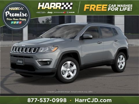 New 2020 Jeep Compass Latitude 4WD