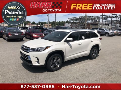 New 2019 Toyota Highlander Limited Platinum With Navigation & AWD