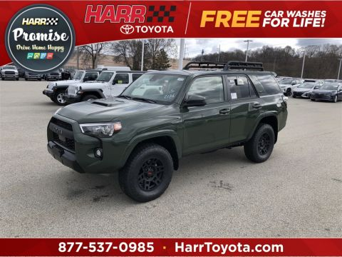 New 2020 Toyota 4Runner TRD Pro With Navigation & 4WD