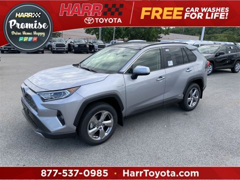 New 2020 Toyota RAV4 Hybrid Limited With Navigation & AWD
